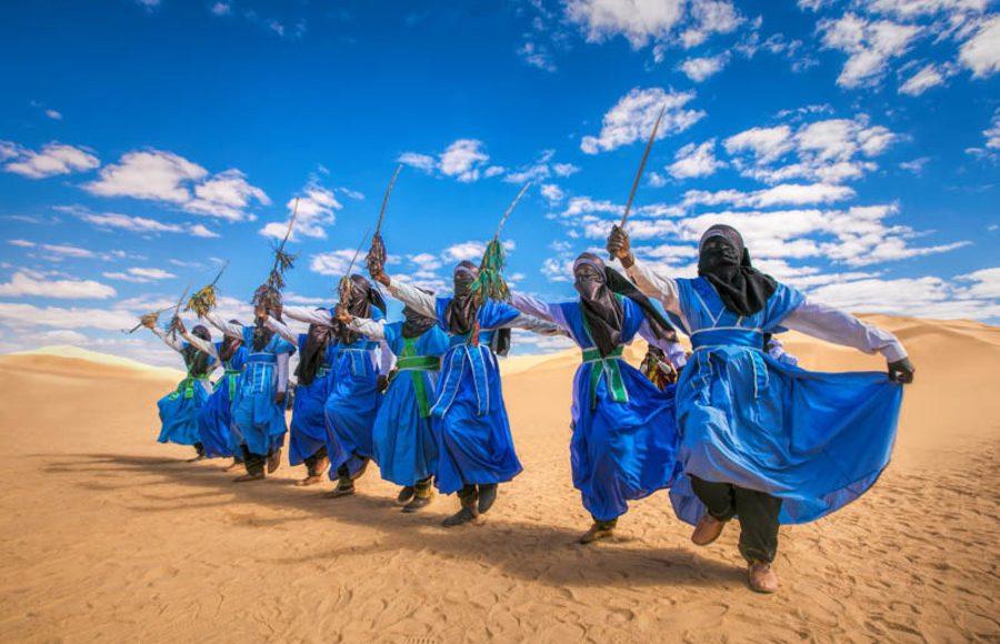 ubari camel trek - 8 days