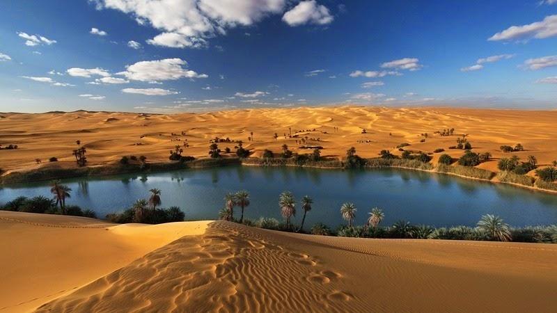 The Lakes of The Ubari