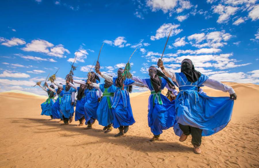 ubari camel trek-8 days